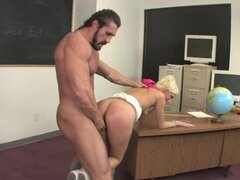 Shameless Christine Alexis is here to have fuck with her teacher