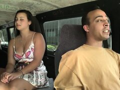 The adventures of P and Pete is bound to get naughty with a naked guy on the Bang Bus