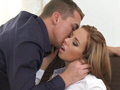 ORGASMS - Gina Devine enjoying hard cock