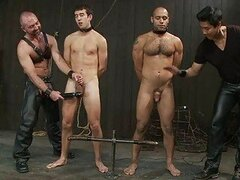 Two gay boys got tortured in the dungeon