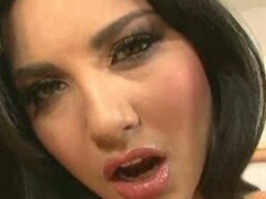 Solo action with hot babe sunny leone