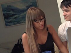 Russian beauty gets hard pounded