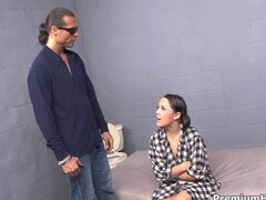 Kristina Rose ass banged in jail sell