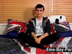 Hardcore gay 20 yr old Jake Wild is a super-naughty emo twin