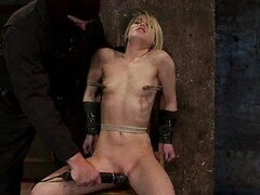 Extreme Torture For a Tied Up Blonde Babe...