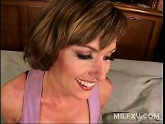Horny Saskia is a young milf who enjoys sucking stiff cocks. Watch this naughty milf take a big cock in her wet mouth and fumble every inch of its stiff muscle with her sweet looking lips. Watch her get a sudden urge to get it hard in her cunt by riding o
