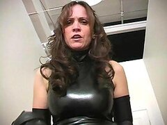 Extreme mature dominatrix kinky balls busting