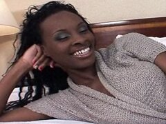 Tight Body Ebony  Teen in 1st Time Amateur Video