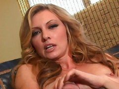 Masterbating solo Kelle Marie takes her hard all by herself