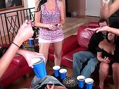 Hot College Girls in a Wild Sex Party