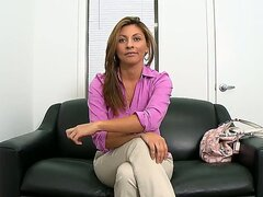 Lisa is one busty and exciting milf! She looks perfect and she needs money! Thats why she is here! Lisa needs to pass first casting to get a job. She takes off her clothes for the first time on the camera!