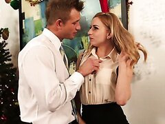 Lexi Belle rides big dick of her boss/Lexi Belle