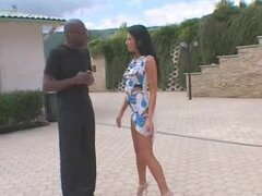The estate agent Lianna gets fucked by her black client