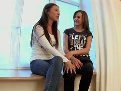 Arousing Lesbian Action with Hot Pussy-Licking Lesbian Teens