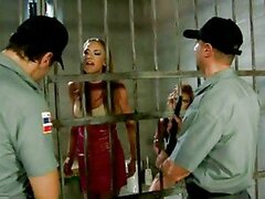 Two Officers Shag Two Prisoner Hotties