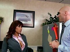Office Pranks By Busty Office Skank Devon Michaels