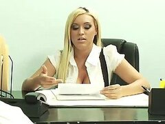 Hot Boss Memphis Monroe Has Hardcore Sex With Her Assistant