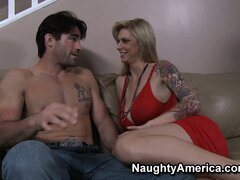 Brooke Banner brings the handyman in for a rest, so she can blow him
