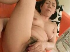 Kimiko Yasue: A Nice Load Of Creampie For Sex Hungry Oriental Milf