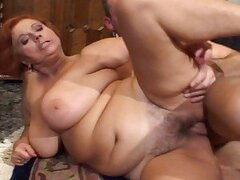 Fucking at 50 6-granny fucked by a young cock