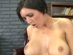 Short haired Dylan Ryder and her boyfriend love oral fuck