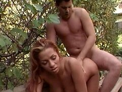 Redhead Maria C rides on top of big dick