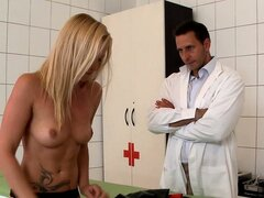 Only the hottest of this pervert s patients get the latex sex therapy
