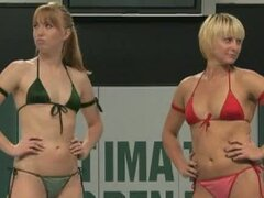 Horny Ami and strong babe Vendetta go lesbian on the nude ring