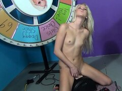 Roxxi still has desires to fulfill and seizes the chance to jump on top of the sybian