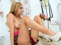When this blondie is up on top of a hard cock, there ain't no stopping her