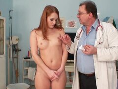 Redhead and a friendly doctor