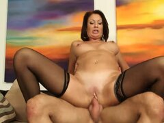 Vanessa Videl takes an eager cock