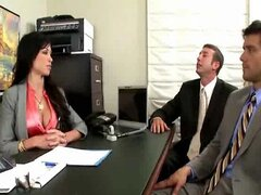 Jewels Jade-I'm the Boss-DP &Squirt