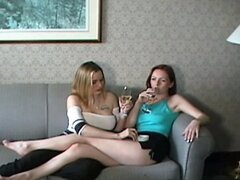 Massaging smoking rich wives of Canada fingering under panty