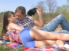 Picnic With Hot Teen Turns Into Outdoors Anal Session