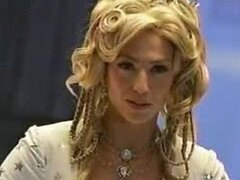 Claudia Black Is One Stunning Blonde