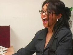 Avena Lee and Mika Tan Fuck In Office