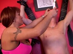 Horny dude humiliated by his wife