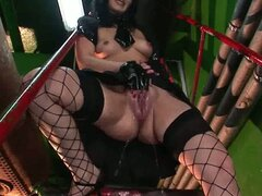 Pussy pumping and black cock sucking