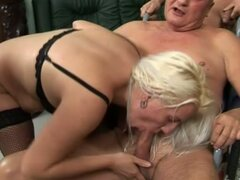 A Sick And Drunken Orgy With Nasty Matures
