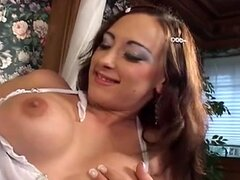 BIG TITS BRUNETTE POUNDED IN ALL HOLES...usb
