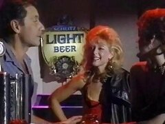 Retro porn at it's best as the barman gets lucky with a hottie after hours