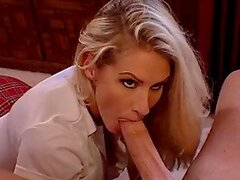 Horny office manager Ryan Conner gets balled by her boss