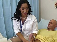 Brunette MILF Doctor Isis Love Healing a Big Dick With Her Pussy