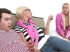 Filthy mature Puma Swede guides couples