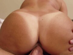 India Summer makes sure to give the camera a good look at her ass