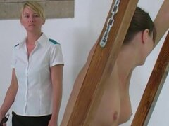 Punishment for misbehavior is a whipping
