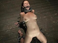 Extreme Bondage and Sex Torture for Submissive Babe