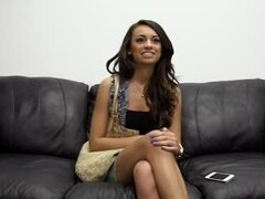 Pleasant Latina babe did not expect to get fucked in the office