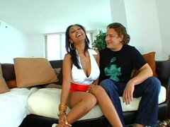 Fabulous cougar Priya Rai with big tits getting eaten